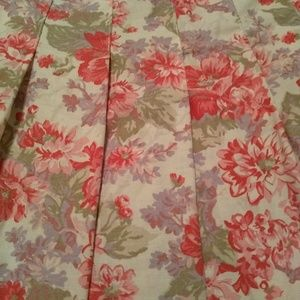 Laura Ashley Skirts - Laura Ashley floral maxi skirt size 8